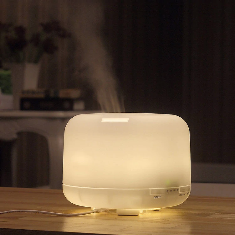 Aesthetic Muji diffuser in action.  This photo is actually a knock-off I found on Ali Express, but I liked the photograph and it looks close enough.